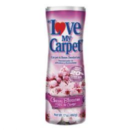 12 Units of Love My Carpet 17oz Cherry - Air Fresheners