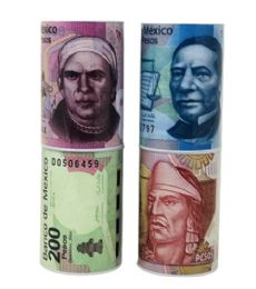 72 Units of 6x4 Inch Mexican Peso Coin Bank - Coin Holders & Banks