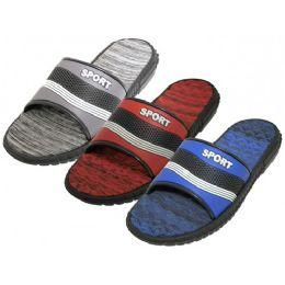 36 Units of Men's Sport Shower Slide Sandal - Men's Slippers