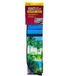 24 Units of Sun Shade Jumbo Printed - Auto Sunshades and Mats
