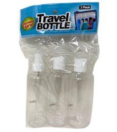 96 Bulk 3 Piece Travel Bottles