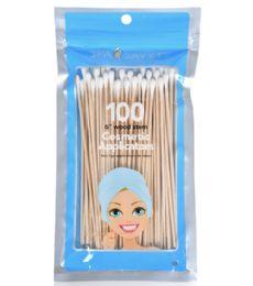 72 Bulk 100 Piece 6 In 1 Cosmetic Application Spa Savvy