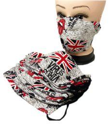 20 Units of Cloth Mask England Style - Face Mask
