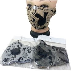 24 Units of Cloth Mask Printed With Filter - Face Mask