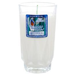 48 Bulk Michelada White Solid Candle