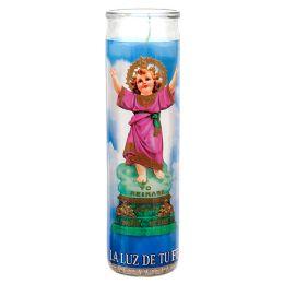 72 Bulk Veladora Divino Nino Jesus Candle