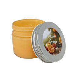 24 Bulk Candle Scented Fresh Orange Jar