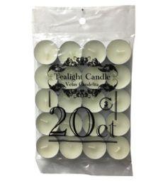 96 Bulk 20 Count Tea Light Candles