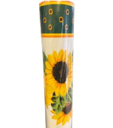 2 Wholesale Sunflower Pattern Table Cover 25 Yards