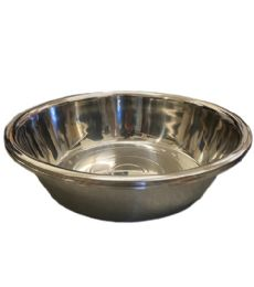 12 Units of 65x19 Cm Mixing Bowl Stainless Steel 1500g - Stainless Steel Cookware
