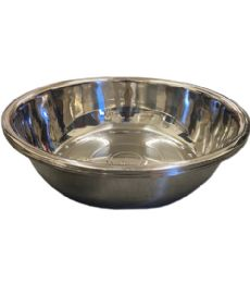 12 Units of 70x20.5 Cm Mixing Bowl Stainless Steel 1800g - Stainless Steel Cookware