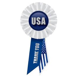 6 Units of Usa Rosette - Bows & Ribbons