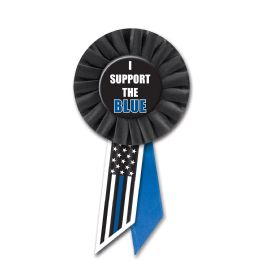 6 Units of I Support The Blue Rosette - Bows & Ribbons