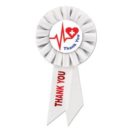 6 Units of Thank You Health Care Workers Rosette - Bows & Ribbons