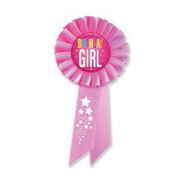 6 Wholesale Birthday Girl Rosette