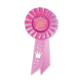 6 Wholesale Birthday Princess Rosette