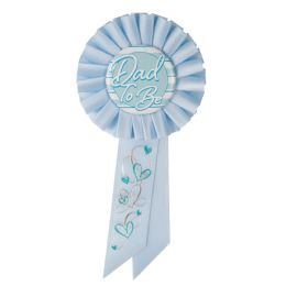 6 Wholesale Dad To Be Rosette Blue