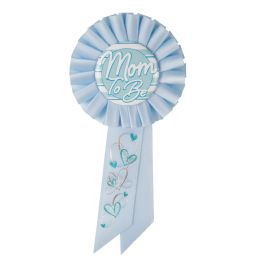 6 Wholesale Mom To Be Rosette Blue