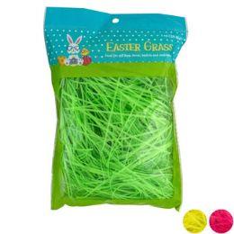 24 of Easter Grass 1oz 3asst Neon Clrs Easter Pb/white Case Cut Carton