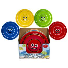 24 Wholesale Flying Disc With Smiley Face