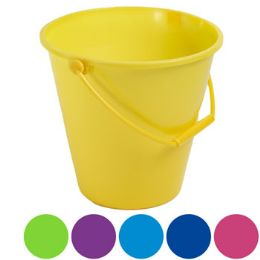 36 of Bucket W/handle 6ast Solid Colors/upc Label