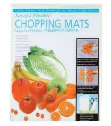 96 Units of 2 Piece Flexible Chopping Mat - Cutting Boards