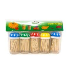 72 Units of 5 Pack Toothpicks - Toothpicks