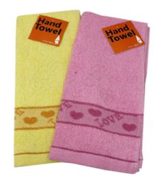 144 Units of Kitchen Towel Embroidered Love Assorted - Kitchen Towels