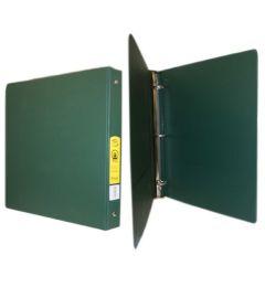 72 Units of Bazic 11 Inch Green 3 Inch Binder - Binders