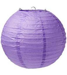 96 of 12 Inch Paper Lantern In Purple