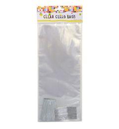 72 Wholesale 30 Piece Clear Cello Bags