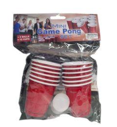96 Wholesale Game Pong Set With 2 Mini Balls
