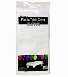 96 Wholesale Table Cover White