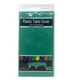 96 Units of Table Cover Green 54x108 - Table Cloth