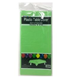96 Units of Table Cover Apple Green 54x108 - Table Cloth