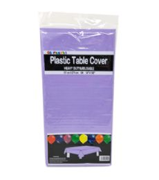 96 Units of Table Cover Lavender 54x108 - Table Cloth