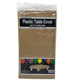 96 Units of Table Cover Gold 54x108 - Table Cloth