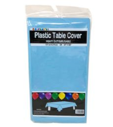 144 of Table Cover Light Blue 54x108