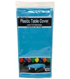 96 Units of Table Cover Turquoise 54x108 - Table Cloth