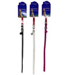 120 Wholesale Extra Small Pet Collar Shiny