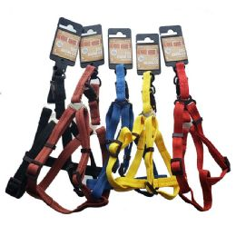 96 Units of Harness Small Bright Colors - Pet Collars and Leashes
