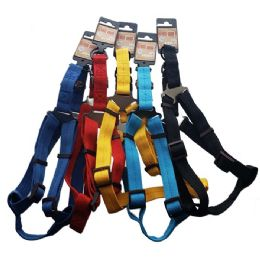 48 Units of Harness Large Size Bright Colors - Pet Collars and Leashes