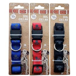 96 Units of Collar Paws Medium Size - Pet Collars and Leashes
