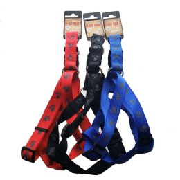 24 Units of Harness Paws Large Size Assorted - Pet Collars and Leashes