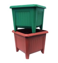 72 Units of Square Planter - Garden Planters and Pots