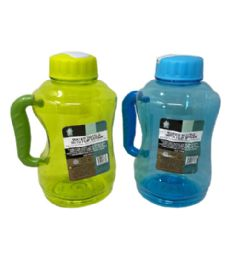 48 Units of 57oz Plastic Water Bottle With Flip Top - Drinking Water Bottle