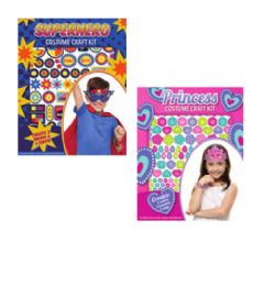 72 Units of Costume Craft Kit - Coloring & Activity Books