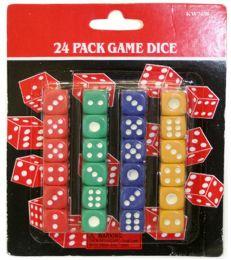 120 of 24 Piece Dice Set