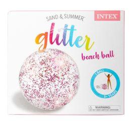 12 Units of Inflatable Glitter Ball - Balls