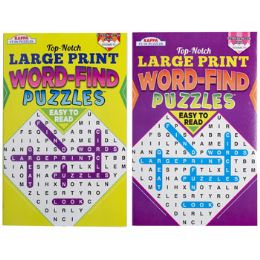 72 Units of Word Find Large Print Pocket - Crosswords, Dictionaries, Puzzle books